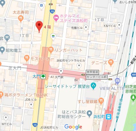 櫻木国際特許事務所 地図